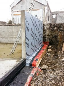 dkb construction wall installation galway ireland