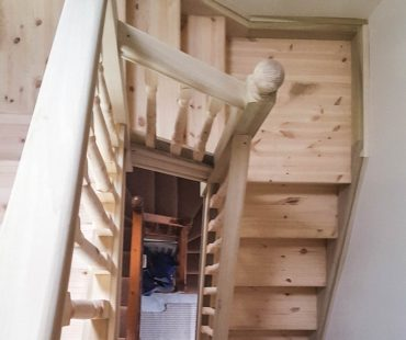 construction of timber stairs design manufacturing and installation tuam co. galway
