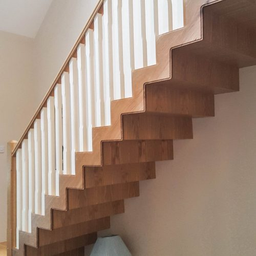 timber minimal design stairs manufacturing and installation tuam co. galway
