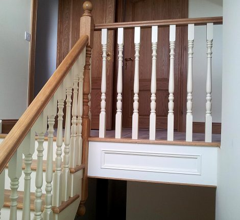 custom painted stairs tuam galway ireland